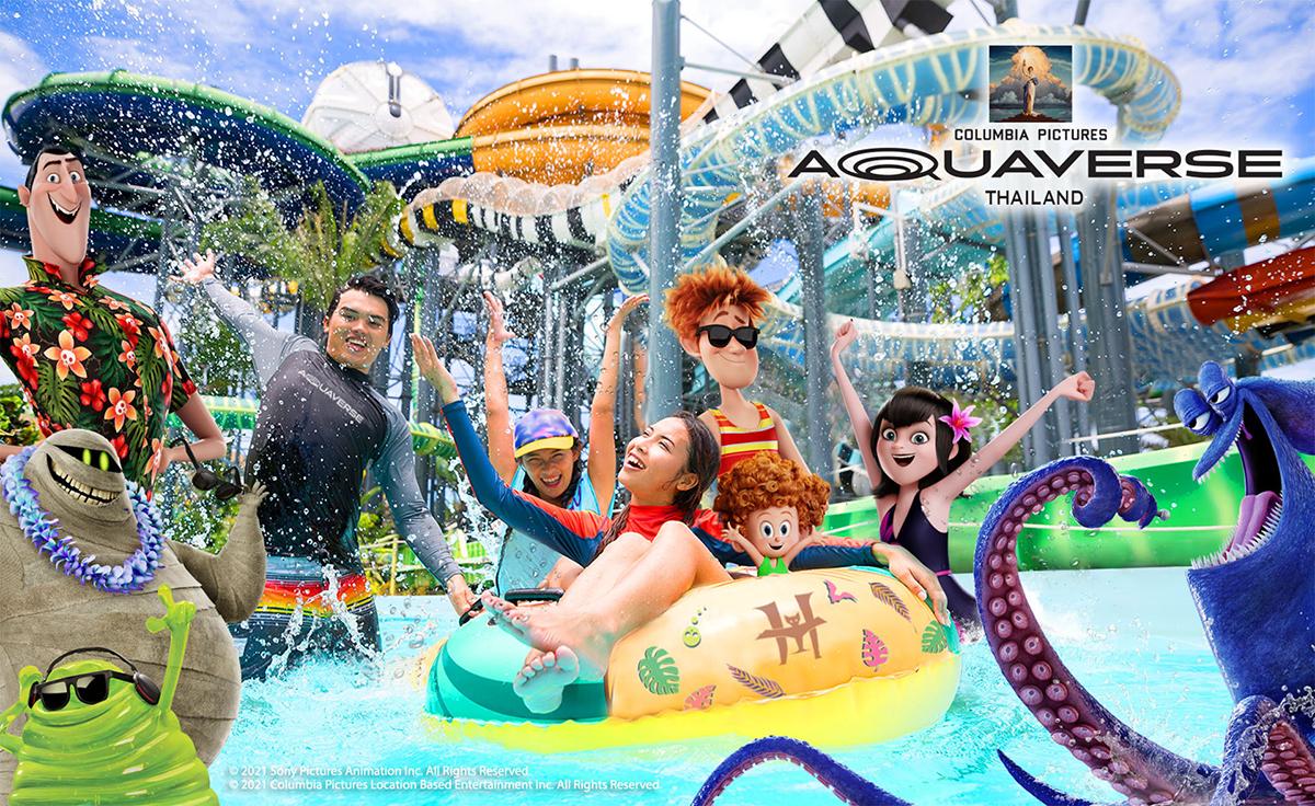 Columbia Pictures представляет - аквапарк Aquaverse в Паттайе