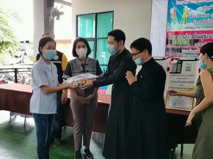 В Таиланде Церковь передала кислородные аппараты больнице