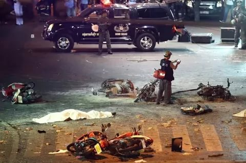 В Таиланде в результате взрыва погибли пять военнослужащих, четверо ранены