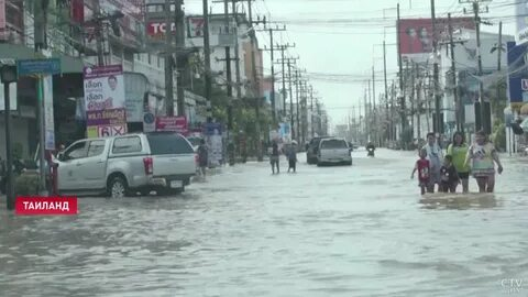 СМИ: на юге Таиланда в результате наводнений погибли девять человек