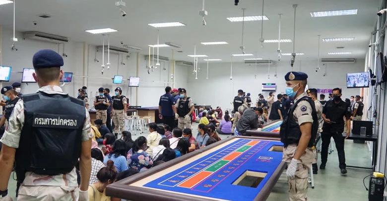 В Районге полицией обнаружено казино