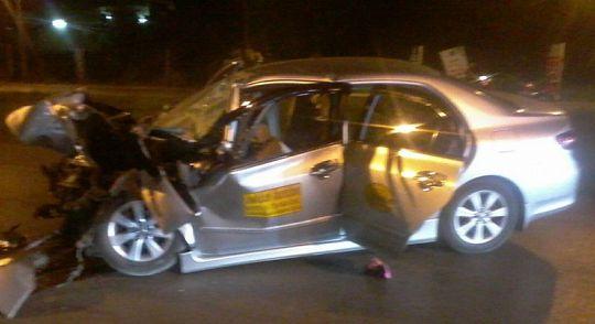 Таксист, признанный виновным в аварии, лишился прав на полгода