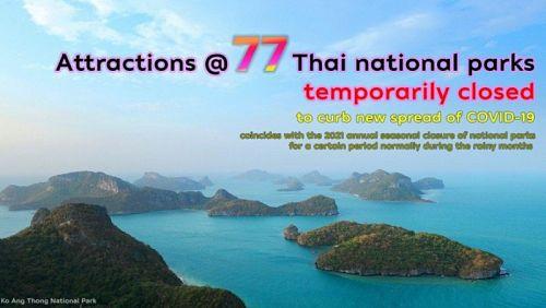 Нацпарк на островах Пхи-Пхи временно закрыт
