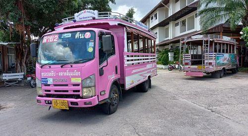 Пхукетские розовые автобусы станут электрическими