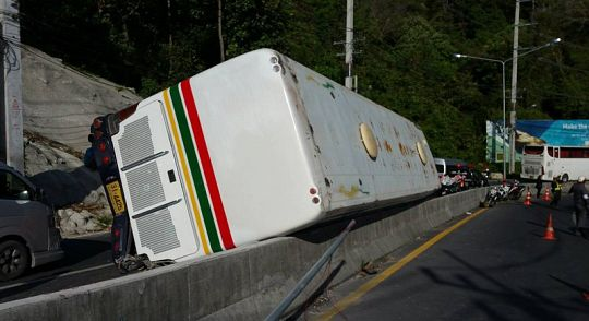 Полиция: «В результате аварии у Большого Будды никто серьезно не пострадал»