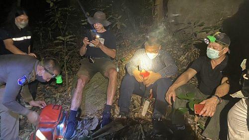 Иностранец потерялся в джунглях Пхукета