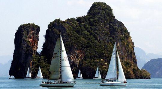 В заливе Пханг-Нга стартует юбилейная Bay Regatta