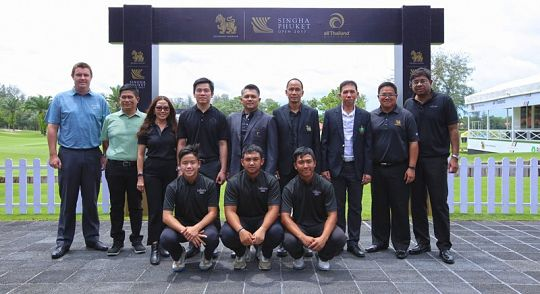Лагуна готовится к первому гольф-турниру Singha Phuket Open