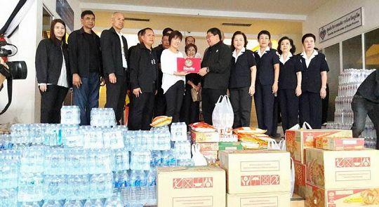 Пхукет собирает гуманитарную помощь для жертв наводнений