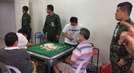 На Пхукете задержаны 11 игроков в маджонг