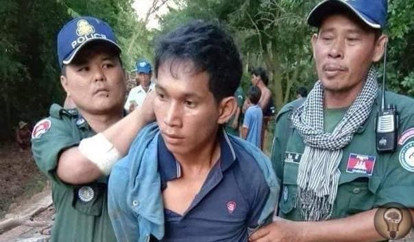 В Камбодже задержан мужчина-вампир, заживо выпивший кровь у трех собак