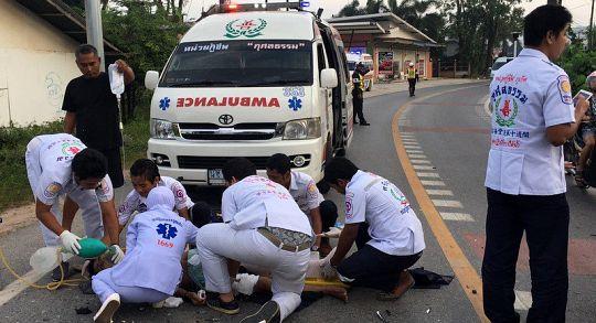 Женщину парализовало после ДТП с двумя мотоциклами в Чалонге