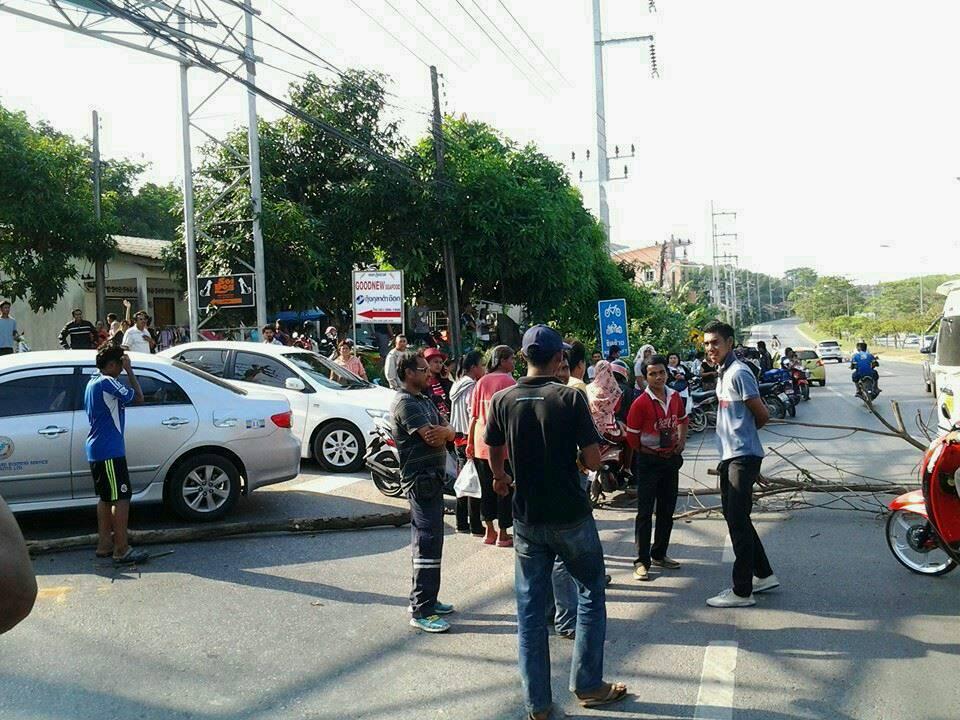 Жители Ко-Кэу выступили против возведения эстакады на Thepkrasattri Rd
