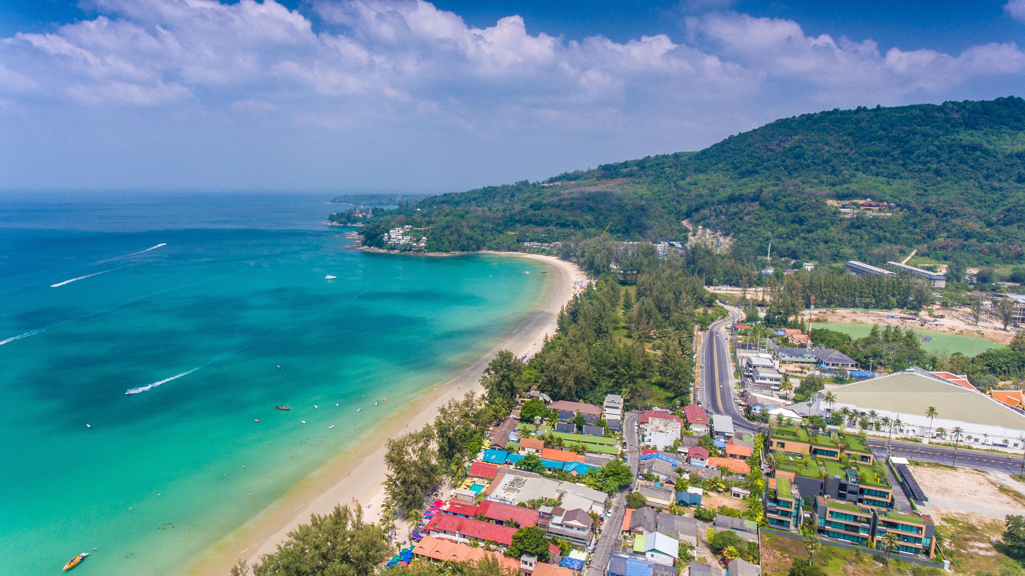 Камала на Пхукете — развивающийся район в центре острова