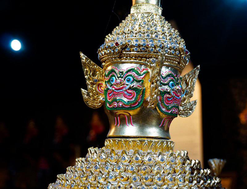 Музей масок Кхон в саду Нонг Нуч в Паттайе
