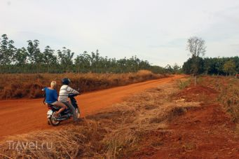 Камбоджа: Банлунг, поездка по окрестностям