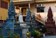 Камбоджа. Буддийский храм