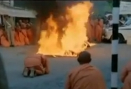 Quang Duc was protesting against the persecution of Buddhists by