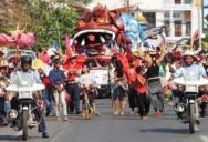 В Сиануквиле начался ежегодный карнавал