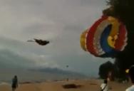 danger parasailing