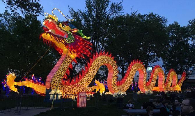 Как отмечают Китайский Новый год в Таиланде