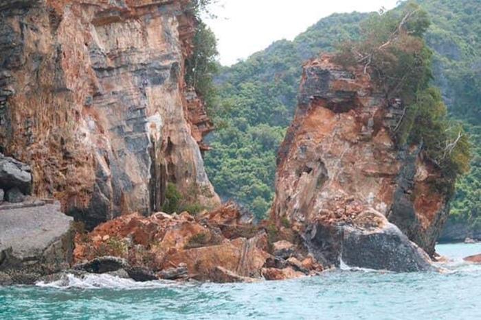 Тропический шторм расколол остров в Сиамском заливе