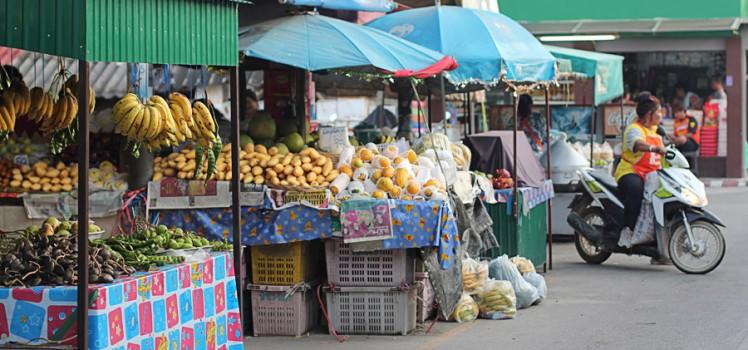 Знакомимся с утренним рынком Маенама