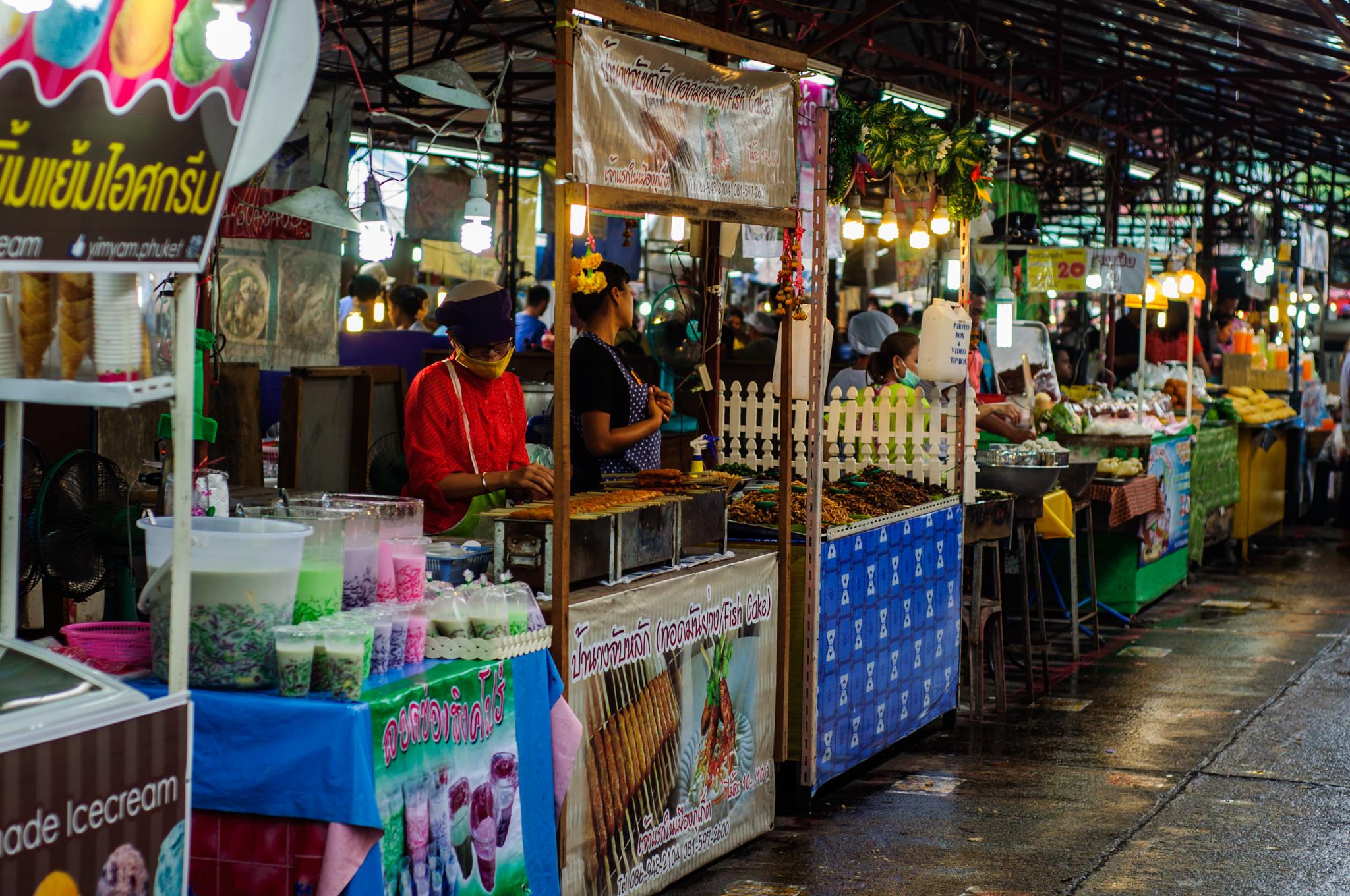 Чилва маркет. Ночной рынок Пхукет. Дешевая еда на Пхукете