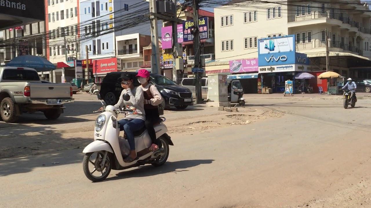 Камбоджа, Пномпень 2020 | Велопрогулка по кхмерской столице | Русски в Камбодже