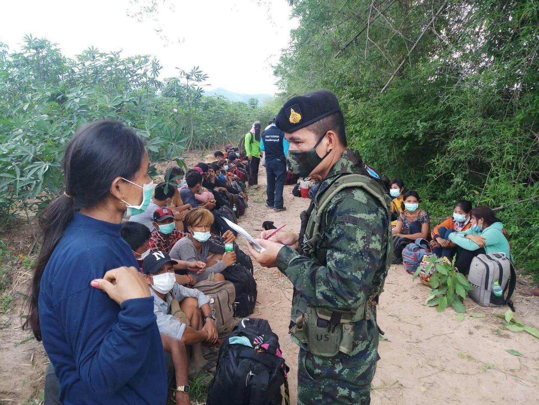 Десятки бирманских мигрантов арестованы на тайско-мьянманской границе за незаконный въезд