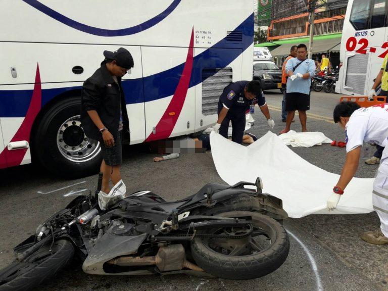 Мотоциклист разбился насмерть, уходя от полицейских