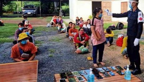 26 граждан Камбоджи арестованы в Таиланде за незаконное пересечение границы