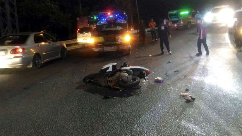 На холме в Патонге в ДТП погибли двое туристов из России