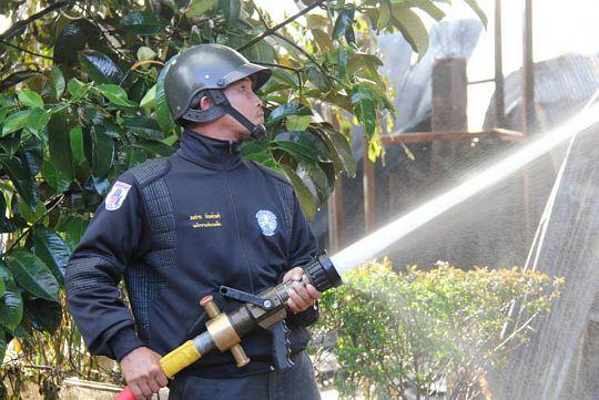 На Пхукете тушили учебные пожары