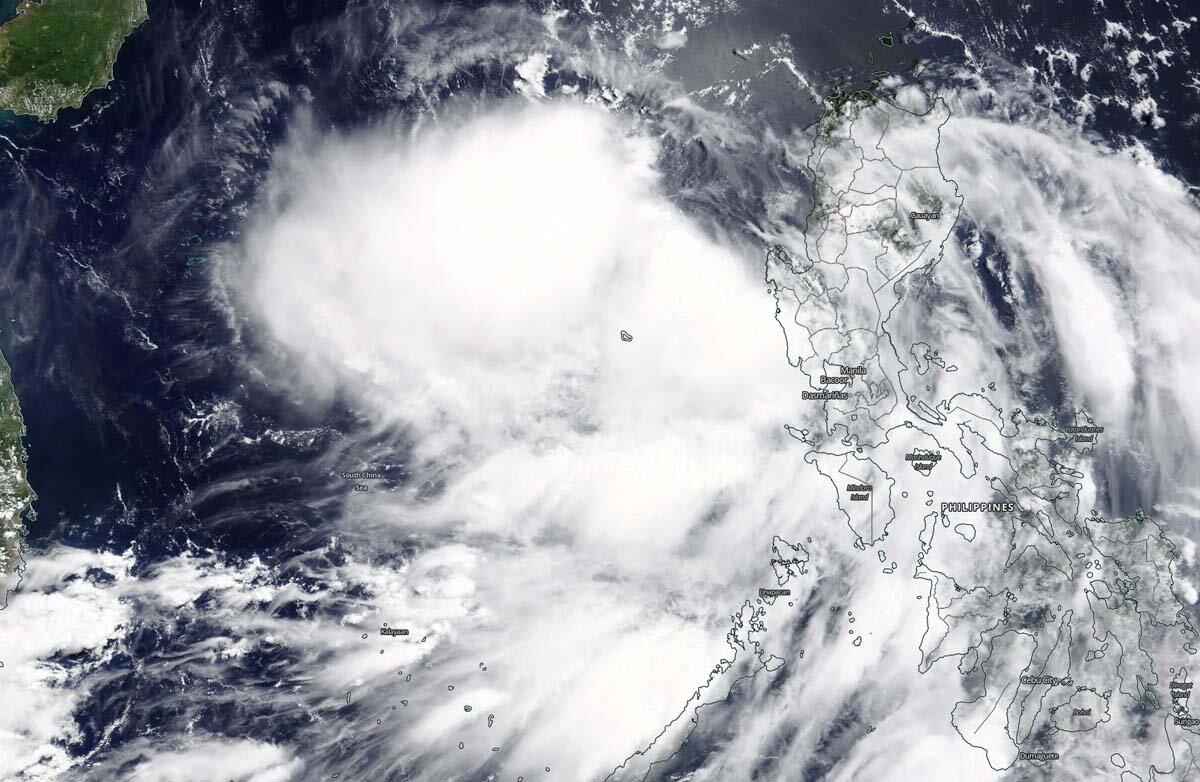 Тропический шторм Нури и муссоны Андаманского моря принесли проливные дожди на территорию Таиланда