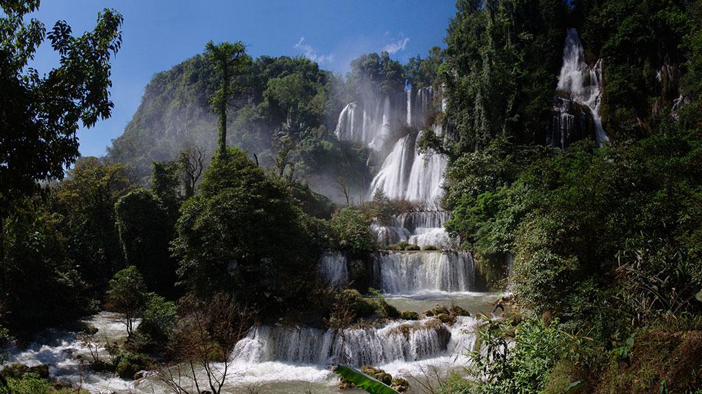 Сезонные расписания посещения водопадов Таиланда