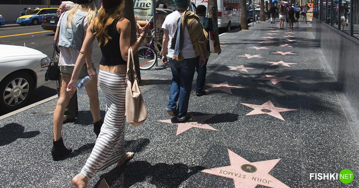 Где можно повстречаться с мировой знаменитостью в Лос-Анджелесе