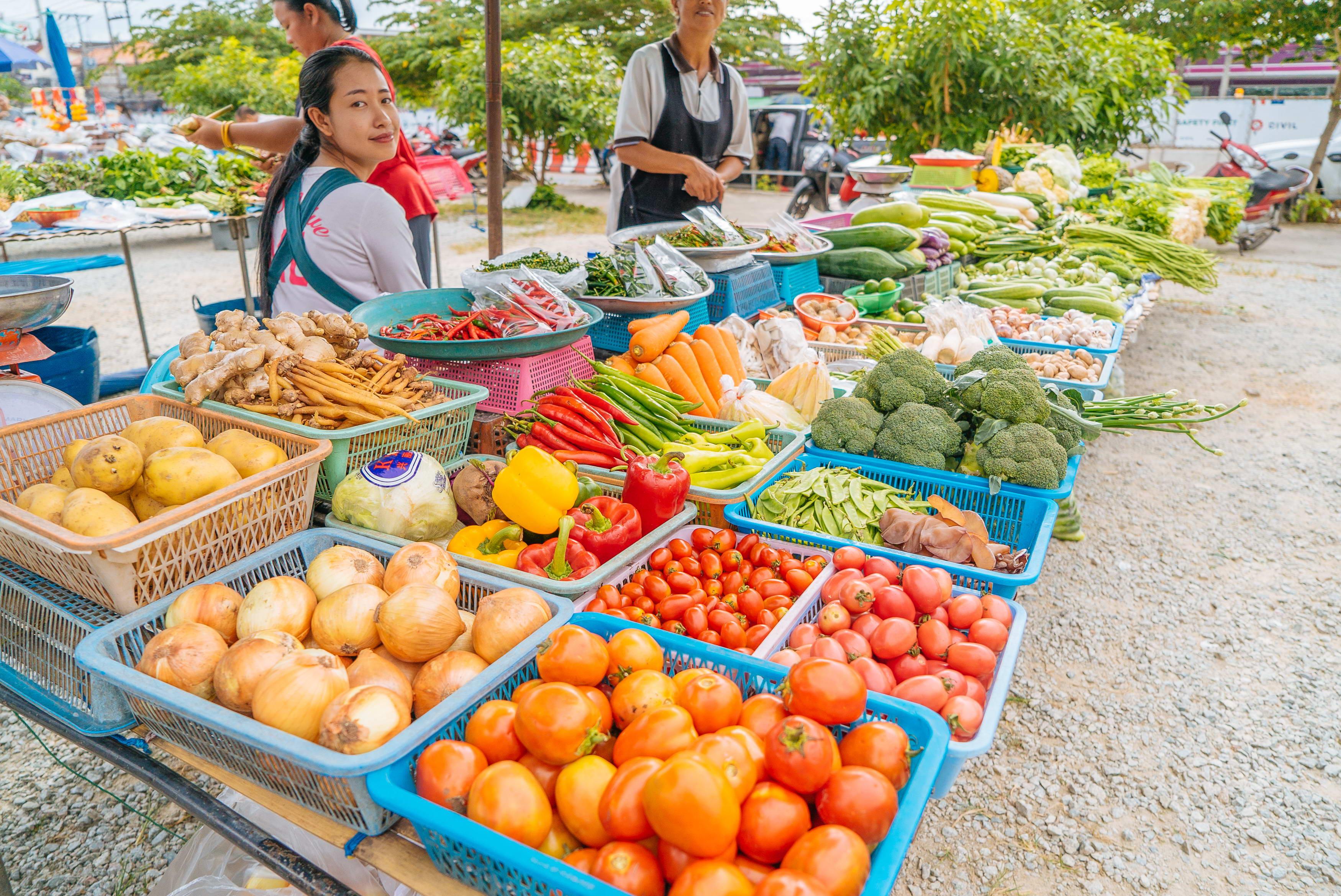 Тайские овощи: что продается на рынках Пхукета