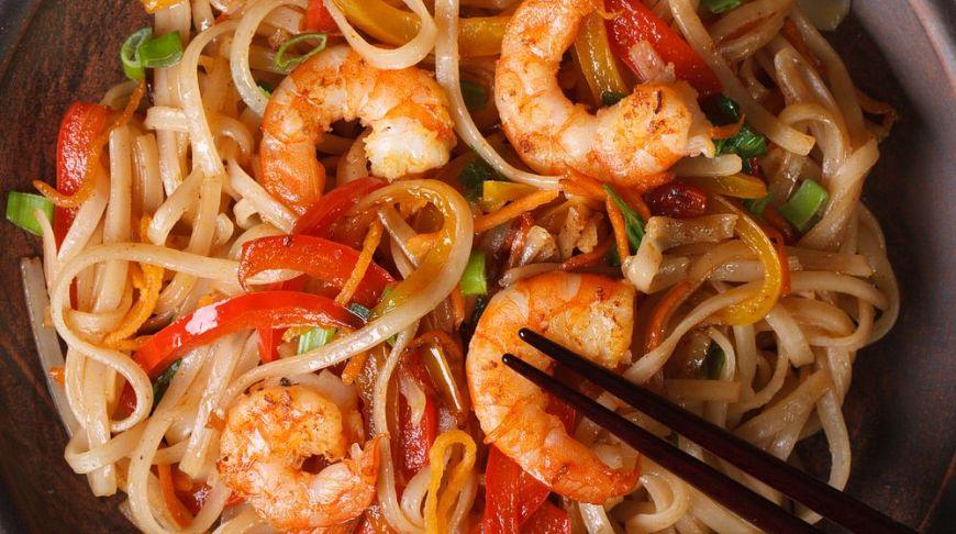 Пад-тай — самое известное блюдо тайской кухни