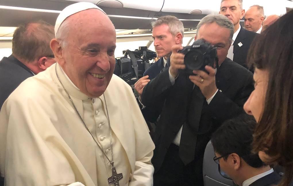 Папа Римский Франциск начал визит в Таиланд