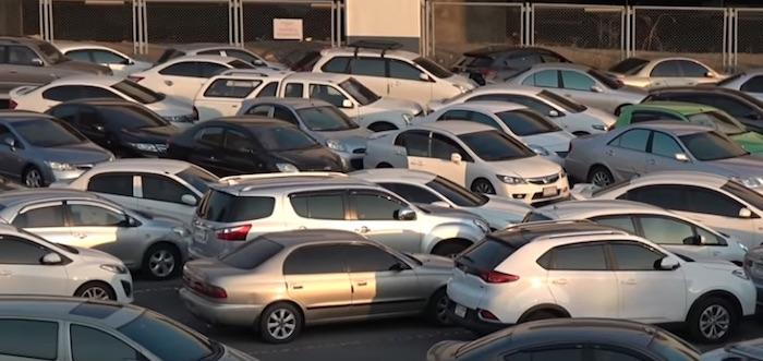 Знакомьтесь: безумная парковка в Бангкоке