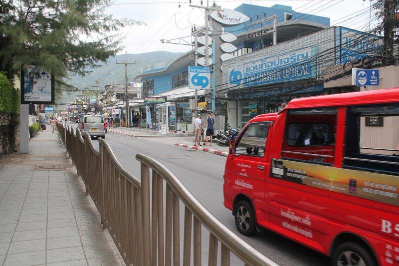 Прибрежная дорога в Патонге будет закрыта в дневное время с 25 августа