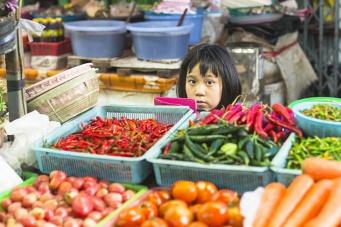 Вся палитра цветов и эмоций рынков Тайланда