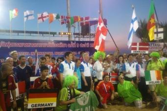 Международный турнир по пляжному футболу в Паттайе