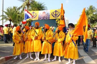 В Паттайе отпраздновали 25-летие прекрасного храма сикхов «Гурудвара», расположенного на сои 17 в Южной Паттайе