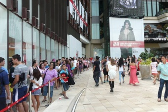 Открытие H&M в Паттайе
