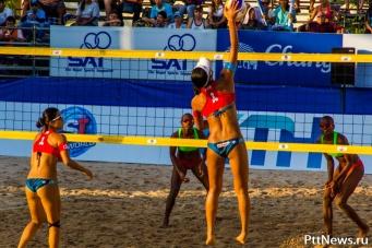 Пляжный волейбол в Паттайе 2014