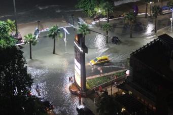 Pattaya Thailand Rain