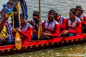 Гонки на длинных лодках в Паттайе 2014