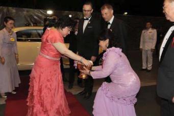 Визит бельгийской принцессы Эсмеральды в Королевство Таиланд